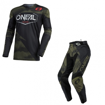 Completo cross enduro Alpinestars RACER BRAAP LIMITED EDITION 2018 maglia+pantaloni
