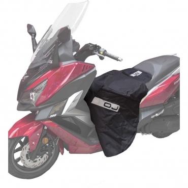 Coprigambe universale per scooter OJ C002 Fast Nero