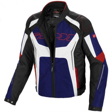 Giacca moto Rev'it DEFENDER PRO GORE-TEX® grigio chiaro-rosso