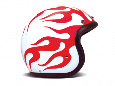 Casco jet DMD Vintage COFFEE BREAK