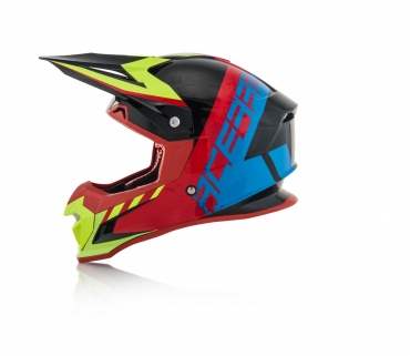 Casco cross enduro O'Neal Serie 3 SPEEDMETAL Nero