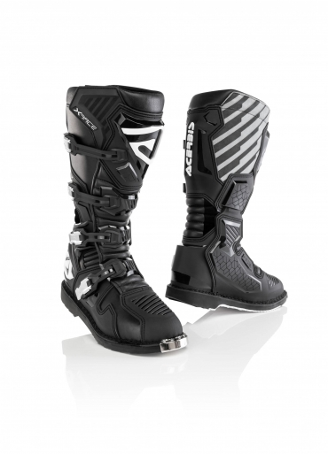 BUCKLE KIT REPLACEMENT ADVENTURE BOOTS Acerbis  ROSSO/NERO