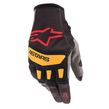 Guanti cross O'Neal MATRIX Glove ATTACK black/hi-viz